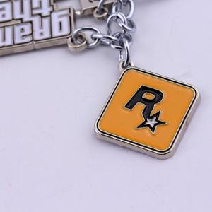 Image 4 - GTA5 Car Keychain Grand Theft Key Ring Auto Key Chain for Fans PS4 Xbox PC Rockstar Key Ring Holder 4.5cm