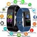 Смарт-часы Смарт-браслет монитор сердечного ритма кровяное давление фитнес-трекер умные часы спортивные часы для ios android + коробка