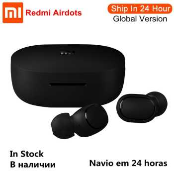 Xiaomi Redmi AirDots Wireless Bluetooth Earphone TWS 5.0 Voice Control DSP Active Noise Cancellation Handsfree Bluetooth Headset