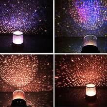 Romantique incroyable Cosmos lune coloré maître étoile ciel lampe lumière enfant projecteur enfants présent Univers nuit cadeau noël F3P8