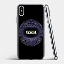 For iPhone 11 Pro 4 4S 5 5S SE 5C 6 6S 7 8 X XR XS Plus Max For iPod Touch Retail Silicone Phone Case Tool Metal Rock Band Logo(China)