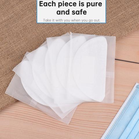 100 pces mascara facial filtro de papel mascara boca pm2 5 dustproof descartavel respiravel algodao