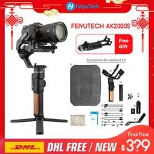 3 осевой стабилизатор для цифровой зеркальной камеры FeiyuTech AK2000S, Ручной Стабилизатор для видео, подходит для беззеркальная камера DSLR pk ak2000
