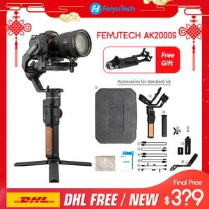 Image 1 - FeiyuTech AK2000S 3 assi gimble DSLR Camera Stabilizzatore Palmare Video Gimbal misura per DSLR Mirrorless Camera pk ak2000