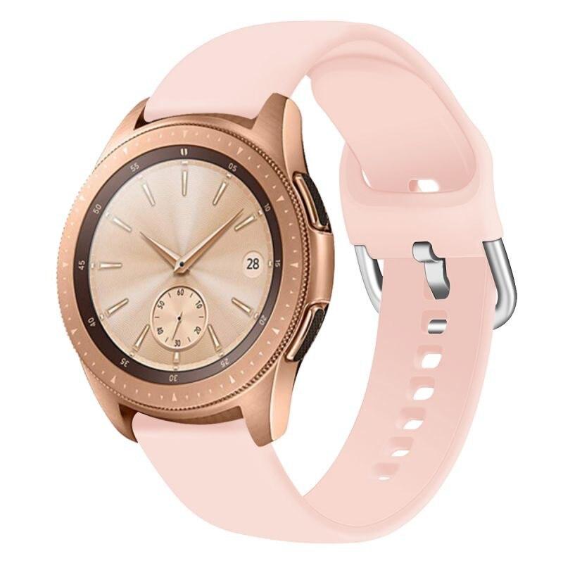 Bracelet de montre en Silicone portable bracelet de montre intelligente remplacement de bracelet de montre pour montre galaxie Active/42mm