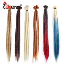 Leeons 20inch Handmade Dreadlocks Crochet Hair Dreadlock Hair