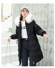 2019 New Winter Casual Parka Women Sustans Pockets Fur Hooded A Line X Long Thick Zipper Solid Plus Size Snow Jackets Coats