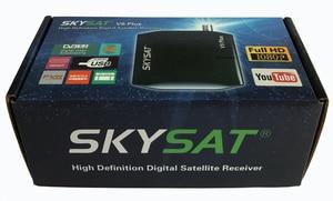 Image 5 - SKYSAT V9 Plus HD Super Mini DVBS2 Satellite Receiver support CS WiFi 3G Youtube PVR PowerVu Biss V9+