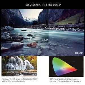 Image 2 - ThundeaL T26L T26 מלא HD מקרן לא T26K Native 1080P 5500 Lumens וידאו LED בית קולנוע תיאטרון K19 K20 m19 M20 טלוויזיה 3D Beamer