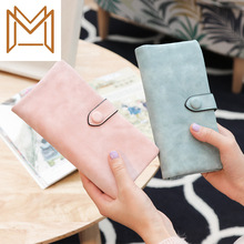 Long Wallet Matting Hand Package Capacity Women's Mobile Phone Package