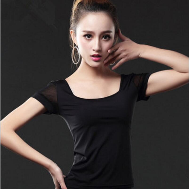 Новинка, Латинская полуюбка для женщин, ча-румба-Самба, сексуальная леопардовая юбка с бахромой для танцев, для женщин, для взрослых, для выступлений, для тренировок, латино платье - Цвет: Black Tops