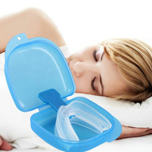 Silicone Stop Snoring Anti Snore Mouthpiece Apnea Guard Bruxism Tray Sleeping Aid Mouthguard Personal Health Care Sleep Snoring