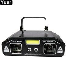 3 в 1, лазерный прожектор DMX512, 36 Вт