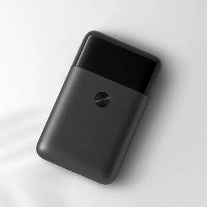 Image 3 - Xiaomi Mijia נייד גברים תער גילוח חשמלי הדדיות 2 סכין ראש IPX7 עמיד למים סוג C טעינה אלחוטי מכונת גילוח