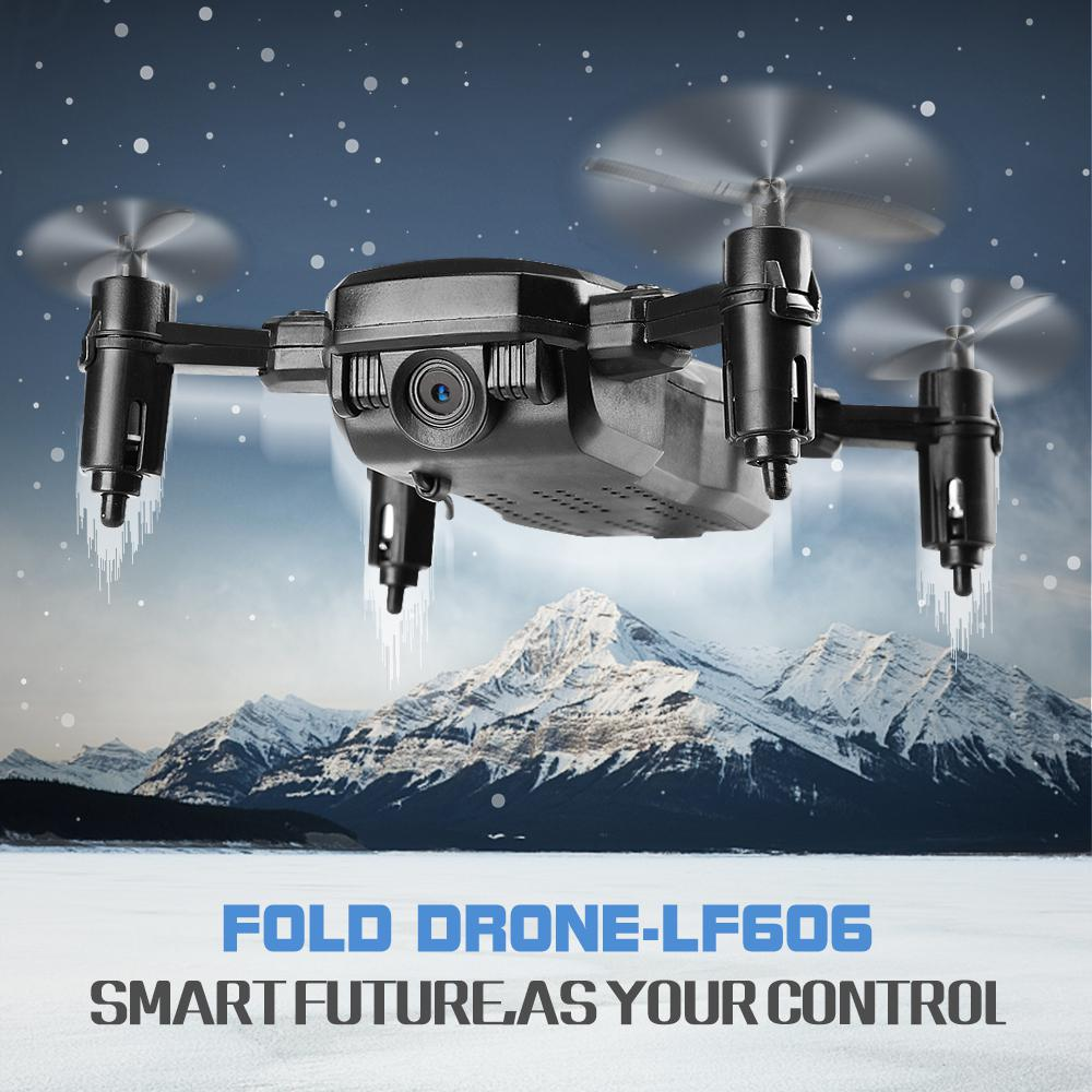 lowest price GloryStar LF606 Mini Drone with Camera Altitude Hold RC Drones with Camera HD Wifi FPV Quadcopter Dron RC Helicopter