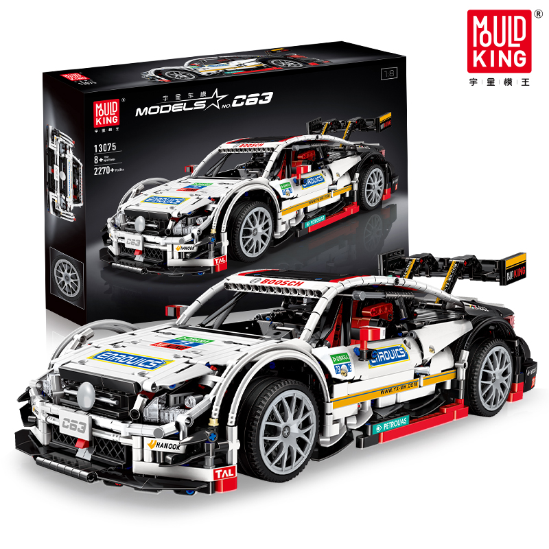 AMG C63 Model Bricks Technic Series BENZ Racing Car Set Building Blocks Bricks Compatible With Lepining Toys For Children Gifts