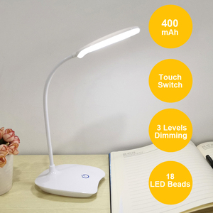 Image 3 - Table Lamp Rechargeable Desk Lamp Study Lamp Touch Switch Modern Table Lamp Flexible For Student Reading Study Desk Light