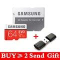 SAMSUNG EVO + Micro SD 64 Гб SDHC 80 МБ/с./с класс 10 карта памяти C10 UHS-I TF/SD карты Trans Flash SDXC 128/ГБ 256 ГБ для доставки