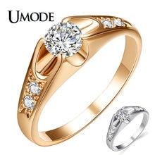 Женское Обручальное Кольцо umode обручальное кольцо цвета розового