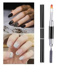 Manicure light therapy pen double head dual-use with color embossing multi-function plastic nail manicure