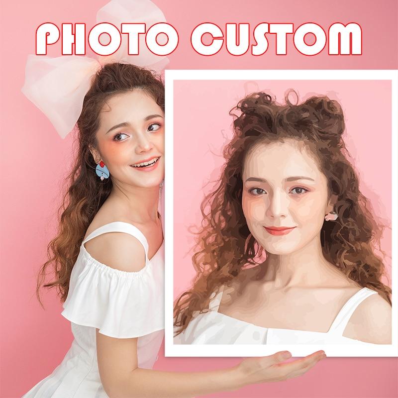 Купить chenistory фото на заказ diy раскраска по номерам индивидуальная