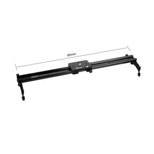 Image 2 - Commlite 60cm 슬라이딩 패드 비디오 트랙 슬라이더 DSLR 캠코더 용 돌리 안정기 시스템