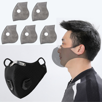 Cycling Face Mask Filter PM2.5 Windproof Mask Anit-fog Breathable Dustproof Bicycle Respirator Sport Protection Dust Mask 1