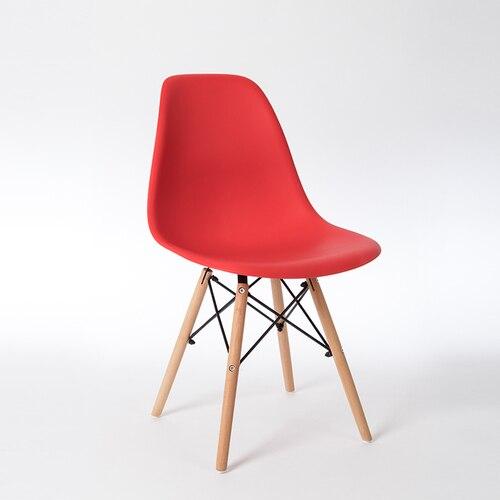 Скандинавские стулья для столовой, простые современные складные маленькие квартиры, ленивые домашние столы, задние пластиковые компьютерные кресла - Цвет: 8