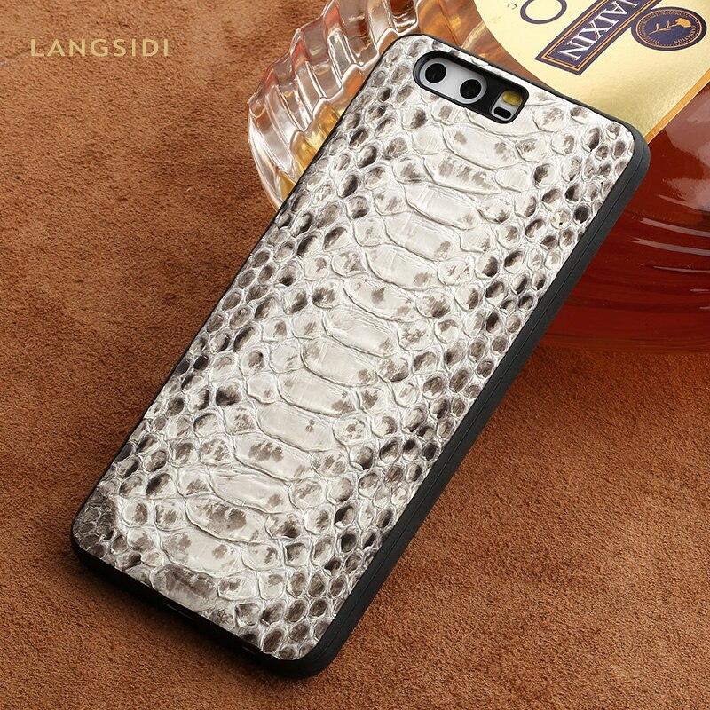 Роскошный чехол для телефона из натуральной кожи питона для huawei mate 20 P20 P30 Pro Lite 360 полная защита для Honor 8X V20 20 Pro