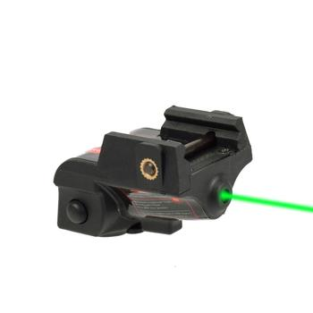 Rechargeable Subcompact Pistol Glock 17 18c 19 Green Laser Sight Tactical Weapons Gun Laser Picatinny Rail Aiming Lazer Pointer