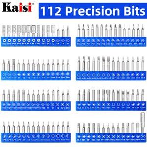 Image 2 - Kaisiドライバーセット精密ドライバーツールキット磁気フィリップスビット 126 で 1 電話ノートパソコンのpc修理ハンドツール