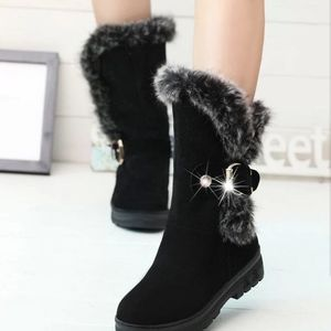 new Mid-calf winter women boot