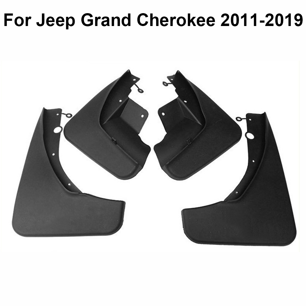Car Mud Flaps Splash Guard Mud Fender 4pcs For Jeep Grand Cherokee 2011 2019 With All Fixing Screws