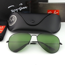 American Military Army Aviation Pilot Sunglasses Polarized Glass lens Men Woman Brand 3025 3206 Original Box Top Quality