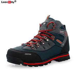Hiking-Shoes Sneakers Mountain-Boots Trekking Outdoor Waterproof Breathable Big-Size