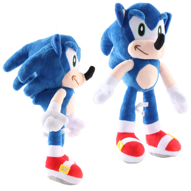 27cm Sonic Toys Super Sonic The Hedgehog Plush Toy Sonic Shadow Knuckles Tails Cute Soft Stuffed Dolls Keychain Keyring Movies Tv Aliexpress
