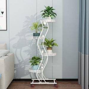 Image 3 - Salincagi Support Pour Plante décoration Exterieur Decoration Exterieur Mensole Per Fiori Support fleur fer Balkon Balcon etagere Plante
