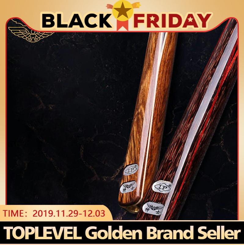 LP GENTLEMAN 3/4 Piece Snooker Cue Billiard Cue Stick with Case and Extension Ash Shaft Snooker 9.8mm Tip Handmade Snooker Stick