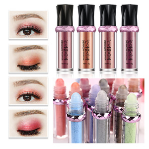 Professionele Vrouwen Make-Up Glitter Langdurige Waterdicht Oogschaduw Rollen Shimmer Pigment Losse Poeder Oogschaduw Make-Up TSLM1(China)