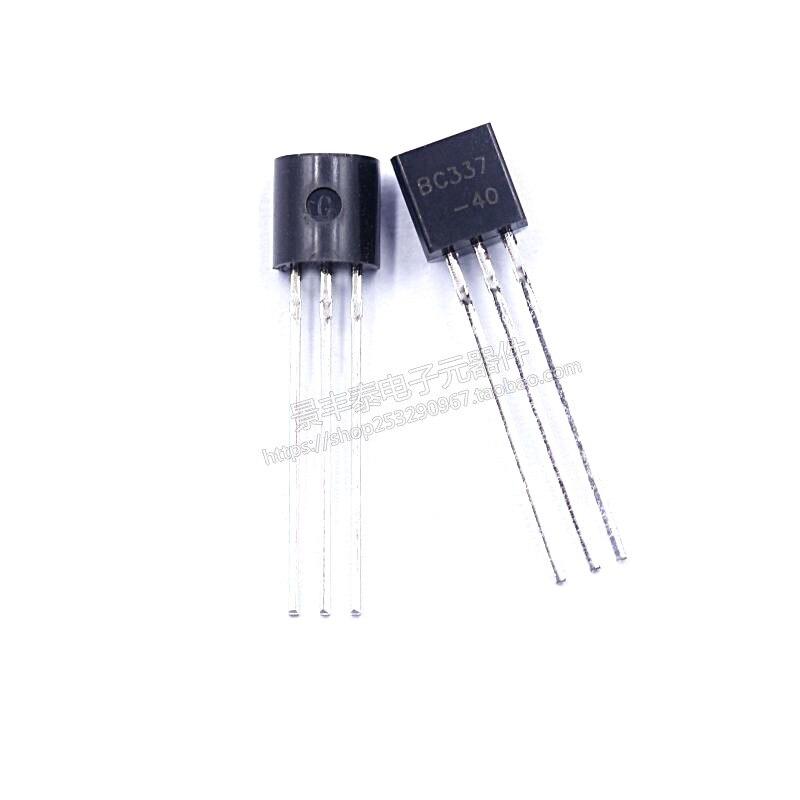 1000 шт. Новый BC337-40 TO92 встроенный биполярный транзистор 0.8A/45V