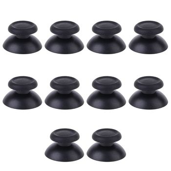 10Pcs Replacement Controller Analog Thumb Stick for Sony PS4 Black - discount item  17% OFF Games & Accessories