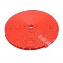 Heißer 8 M Auto Rad Schutz Rad Aufkleber Dekorative Streifen Reifen Schutz Pflege Abdeckung Drop Boot Auto Form Änderung