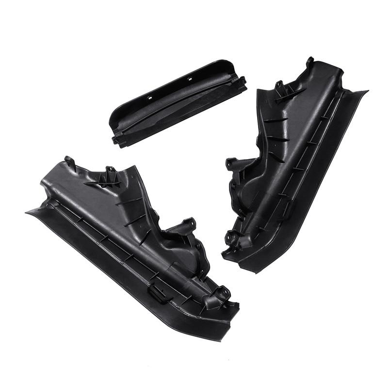 3 ชิ้น/เซ็ตรถเครื่องยนต์ส่วนบนแผงกั้นส่วนชุดสำหรับ BMW X5 X6 E70 E71 E72 51717169419 51717169420 51717169421