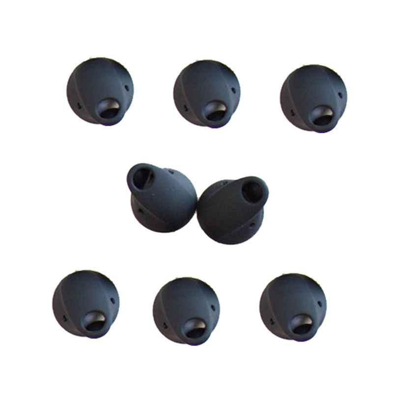 1 para wymiana miękkie silikonowe końcówki douszne hak zatyczki do uszu słuchawki ochronna pokrywa dla obsługi Jabra Storm zestaw słuchawkowy bluetooth akcesoria