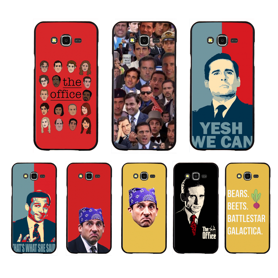 Nbdruicai Michael Scott The Office Funny Humor Coque Shell Phone