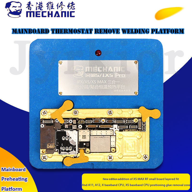Thermostat Remove Welding Platform Desoldering Demolition Rework Station Heater For IPhone X XS MAX Mainboard Separate Bonding