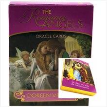 Подарок романтика Ангелы Оракул карты английский читать судьбу карточная игра Настольная игра Ленорман мудрость Таро детских игрушек