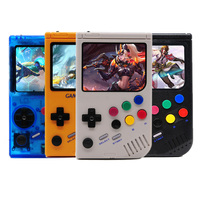 New Retro LCL Pi Boy For Gameboy Video Game Console Raspberry Pi 3A+ 3.5 Inch Screen Handheld Game Player Built in 5000 Games