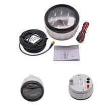 120kmh/200Kmh Odometer 85mm Boat GPS Speedometer Truck Car Speedometer IP67 Waterproof GPS Gauge Meter Speed Odometers LCD Gauge