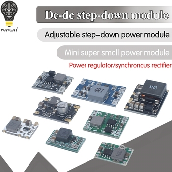 3A 5A 8A DC-DC Buck Step-down Power Supply Module 5V-12V 24V to 5V 3.3V 9V 12V Fixed Output High-Current mxk power distribution board pdb with osd bec output 5v 12v 3a lc filter for cc3c naze32 f3